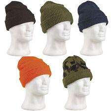 BW rouleau-knit Beanie HOTPANTS bonnet bord roulable tricoté hiver Bundeswehr