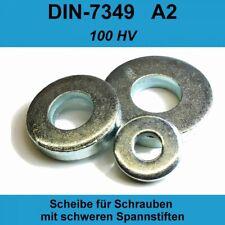8,4 DIN 7349 Unterlegscheiben A2 Edelstahl f. schwerer Spannhülse Spannstifte M8