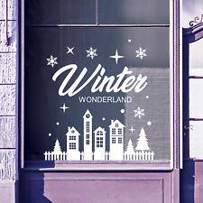 Christmas Shop Window Stickers Decals Display Xmas Wall Stickers Festive B54