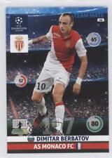 2014 2014-15 Panini Adrenalyn XL UEFA Champions League 186 Dimitar Berbatov Card