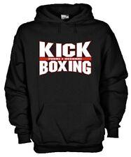 Felpa con cappuccio Sport hoodie KP36_B Boxe Boxeur Kick Boxing Pugilato