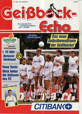 BL 91/92 1. FC Köln - Borussia Dortmund