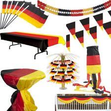 Germania Decorazione da festa calcio EM WM 2016 nero rosso oro usa germany