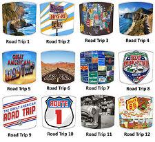 Super américain route Voyages abat-jour état de Californie 1 & côtier pour