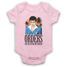 SCARFACE UNOFFICIAL ORDERS TONY MONTANA SCAR FACE MIAMI BABY GROW BABYGROW GIFT