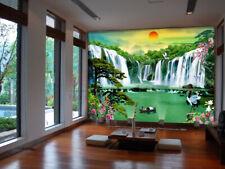 3D Soleil L'eau 266 Photo Papier Peint en Autocollant Murale Plafond Chambre Art