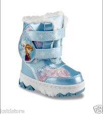 Disney Frozen Elsa Anna Winter Boots Girl Blue-Pink Toddler 10,11,12, 13 NWT