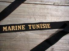 MARINE TUNISIE ---------- RUBAN LEGENDE MARINE