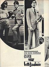PUBLICITE 1966  LA BELLE JARDINIERE costume EURAL