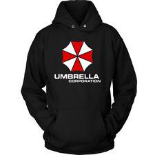Umbrella Corporation Resident Evil Videogiochi Film Logo Felpa Con Cappuccio/Zipper