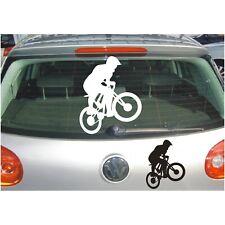 Schatten Aufkleber Rad Mountainbike Gelände Fahrrad Sport Sticker Folie Auto KfZ