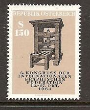 AUSTRIA # 740 MNH OLD PRINTING PRESS