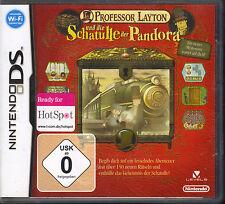 Professeur Layton et la boite de Pandore (Nintendo DS)