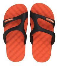 Tongs de piscine enfants noir orange gr. 24 - 32 CHAUSSURES JEUNES baignade