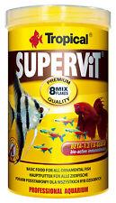 Tropical Supervit - Flockenfutter / Fischfutter - Erhältlich in 500 ml bis 21 L