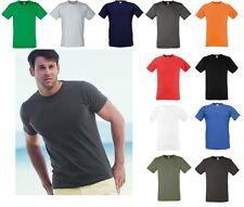 5 Pack Fruit of the Loom ajustada de Valor Peso T-Shirt Tee comprar a granel Venta Mayorista Lote