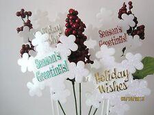 Snowflake, Angels,Happy Holidays,Happy New Year,Christmas,Seasons Greetings NIP