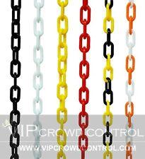 6mm Plastic Chain VIP Crowd Control