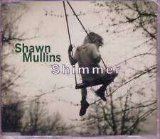 SHAWN MULLINS Shimmer ACOUSTIC CD Single w/ DAVID BOWIE TRK SEALED USA seller