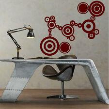 Stickers Mural Suite de Cercles Abstrait - Design