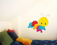Kleine Raupe Wandtattoo Wandaufkleber Kinderzimmer  4 Größen