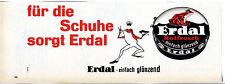 Erdal-für die Schuhe sorgt Erdal--Werbung von 1961-