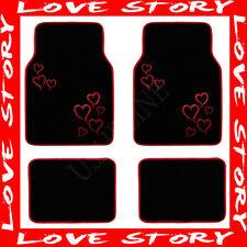 RED HEART LOVE STORY CARPET FLOOR MATS (PREMIUM) AAA+