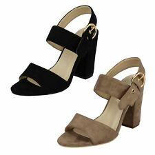 Ladies Anne Michelle High Heel Mule Sandals F10726