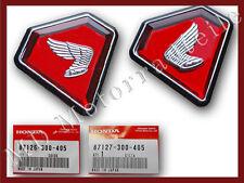 Honda CB 750 Four K1 Side Cover Emblem Set  Embleme Set Seitendeckel