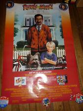 Super Nintendo Dennis The Menace 1994 Video Store Poster Crush Soda SNES