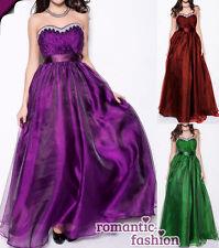 ♥Größe 36 bis 46 Ballkleid Abendkleid Brautkleid Abi-Party Kleid +NEU♥