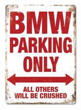 WTF | BMW PARCHEGGIO SOLO | Metallo Muro Firmare La Placca art | Mseries m3 m4 m5 MINI