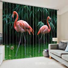 3D Bird Tree 44 Blockout Photo Curtain Printing Curtains Drapes Fabric Window CA