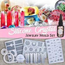 DIY Crystal Glue Jewelry Mold 83 Pcs Set Handmade Crystal Glue Mold Set