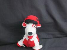 TARGET BIKING BULLSEYE PLUSH Spot PUPPY DOG Biker HELMET Stuffed Animal Toy