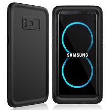 Galaxy S8 /S8 Plus Waterproof Case, Shockproof Slim Armor Sensitive Touchscreen