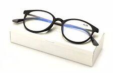 TR90 /w Flexible Titanium-B Temple Round Reading Glasses Anti-Reflective Coating