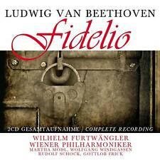 CD Beethoven Fidelio von Wiener Philharmoniker Dirigent Furtwängler  2CDs