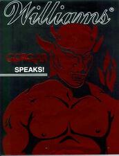 Williams Gorgar pinball sound speech rom chip set