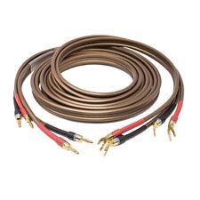 VAN DEN HUL D-352 Coppia di cavi per diffusori acustici terminato custom - NUOVO