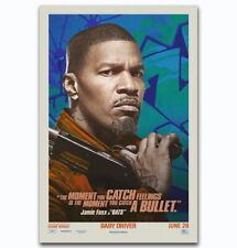 60228 Baby Driver 2017 Jamie Foxx Bats Wall Print Poster CA