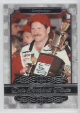 2015 Press Pass Dale Earnhardt Tribute #DE-4 Championships Racing Card