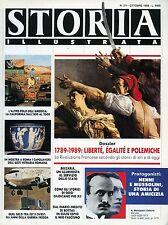 """STORIA ILLU.TA N°371/10.1988 """" DOSSIER :1789-1989 :LIBERTE',EGALITE' E POLEMICHE"""