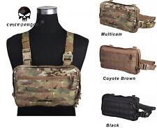 Emerson Combat Tactical Vest Pouch Bag Chest Recon Bag Tools Molle Pouch