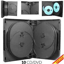 Pack ESTUCHES DVD de 1 2 3 4 6 8 10 12 discos CAJA CD MiniDVD SLIM COMPACTOS DIY