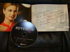 REVENGE EMMY DVD 4EPISODES SEASON1 Madeleine Stowe +PICTURE PRESSBOOK *C AD