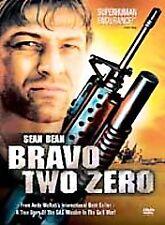 BRAVO TWO ZERO Rare OOP DVD Sean Bean Jamie Bartlett Kevin Collins Sealed NEW