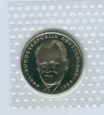 BRD  2 DM Willy Brandt  stempelglanz oBH (Wählen Sie unter: 1994-2001 und ADFGJ)