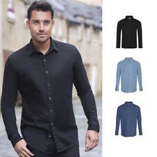 Awdis So Denim Jack Denim Shirt SD040 -Men's Structured Classic Smart Casual Top