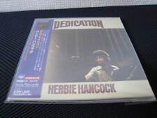 Herbie Hancock Dedication Japan Mastersound Mini LP CD w OBI Paper Sleeve Nobu